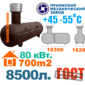 Газгольдер ПМЗ - 8500 литров.