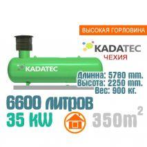 Газгольдер 6600 литров с высокой горловиной - Чехия