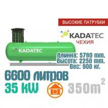 Газгольдер 6600 литров с патрубками  - Чехия