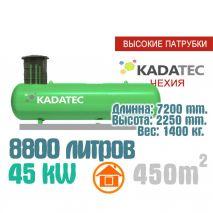 Газгольдер 8800 литров с патрубками  - Чехия
