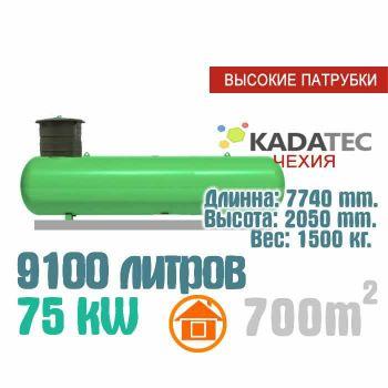 Газгольдер 9100 литров с патрубками  - Чехия
