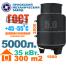5000 литров - вертикальный газгольдер Приокского механического завода.