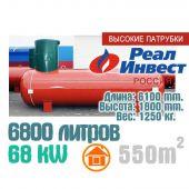 """Газгольдер 6800 литров """"Реал-Инвест""""."""