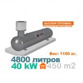 Газгольдер 4800 литров с горловиной 4600 литров Россия - Германия