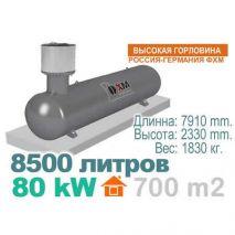 Газгольдер  8500 литров. Россия - Германия