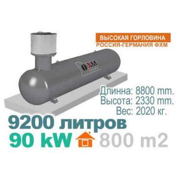 Газгольдер 9200 литров Россия - Германия